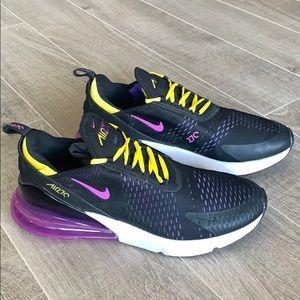 Nike Airmax 270 Black Hyper Magenta Size 14
